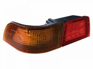 Tractors - MX255 - Tiger Lights - Left LED Tail Light for Case/IH MX Tractors, Red & Amber, TL6145L