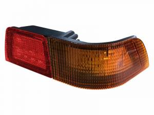 Tractors - MX255 - Tiger Lights - Right LED Tail Light for Case/IH MX Tractors, Red & Amber, TL6145R