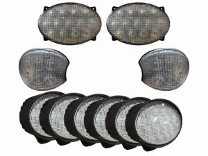 Tractors - 7720 - Tiger Lights - LED Light Kit for Late John Deere 20 & 30 Series Tractors, JDKit-8
