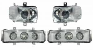 Tractors - STX600 - Tiger Lights - LED Headlight Kit for Quadtrac Tractors, CaseKit13